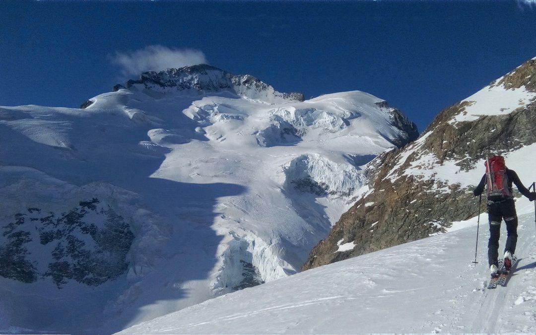 Roche Faurio a ski